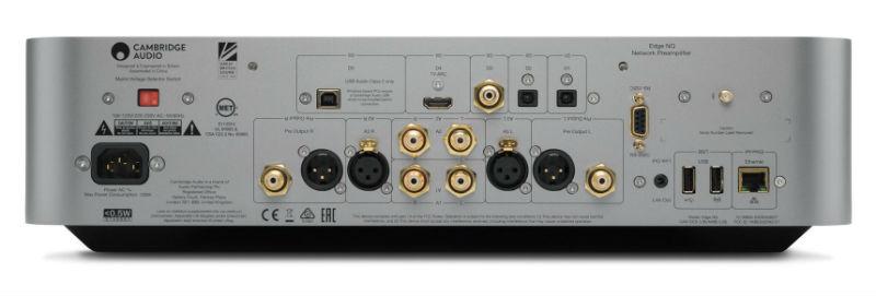 Cambridge Audio Edge NQ rear