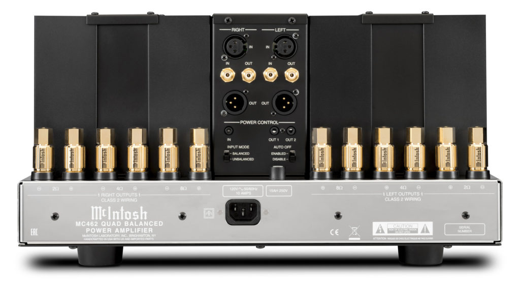 McIntosh MC462 rear