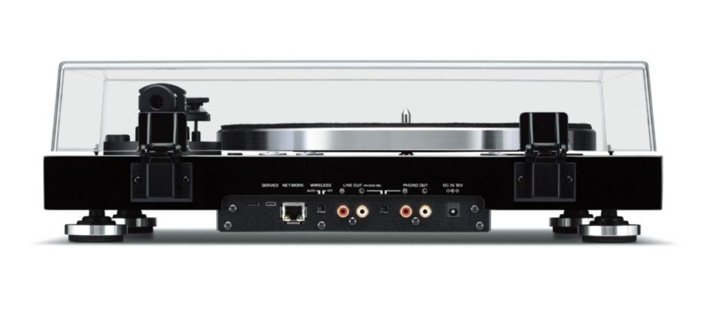 giradischi Yamaha MusicCast VINYL 500 rear
