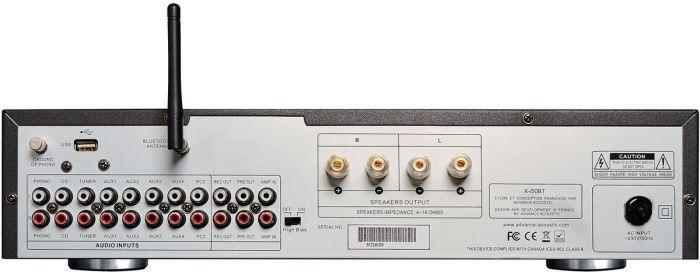 Advance Acoustic X-i50BT rear