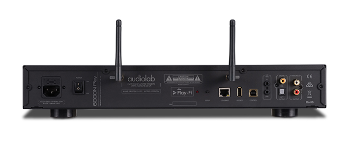 Audiolab 6000N Play rear