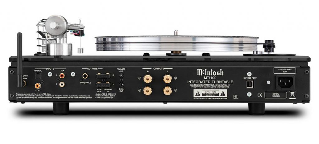 McIntosh mti100 rear