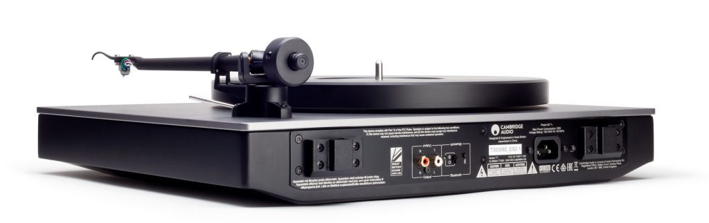 giradischi Cambridge Audio Alva TT rear