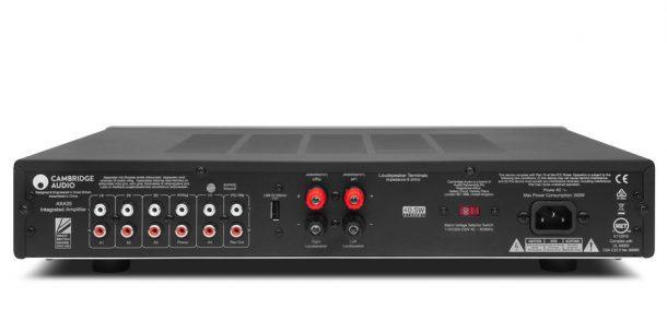 cambridge audio AXA35 rear