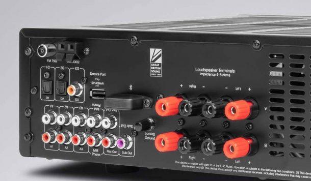Cambridge Audio AXR100D ingressi